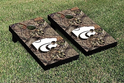 Victory Tailgate NCAA Mossy Oak Version Cornhole Game Set; Kansas State K State Wildcats WYF078278336313