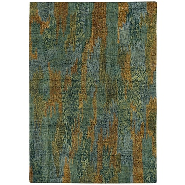 Capel Water Carrier Hand Tufted Area Rug; 7' x 9'