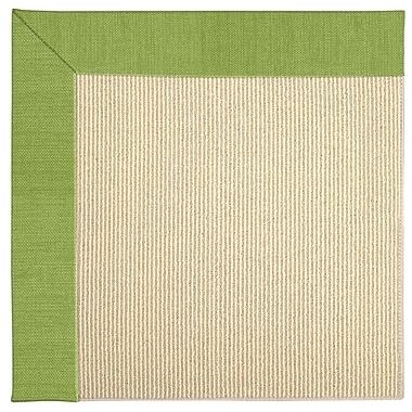 Capel Zoe Machine Tufted Grass/Brown Indoor/Outdoor Area Rug; Rectangle 3' x 5'