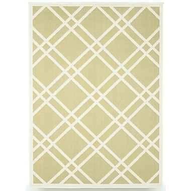 BudgeIndustries Maverick Sage Green Indoor/Outdoor Area Rug; 5' x 7'