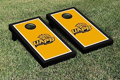 Victory Tailgate NCAA Cornhole Game Set; Arkansas Pine Bluff UAPB Golden Lions WYF078278339046