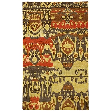 Capel Round About Hand Knotted Salted Pecans Area Rug; 8' x 10'