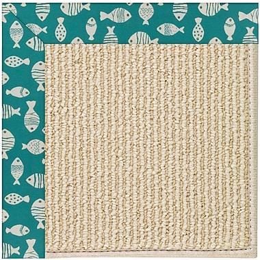 Capel Zoe Machine Tufted Sea Green Indoor/Outdoor Area Rug; Rectangle 10' x 14'