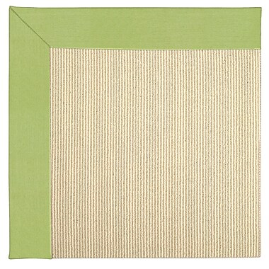 Capel Zoe Machine Tufted Parakeet Indoor/Outdoor Area Rug; Square 4'