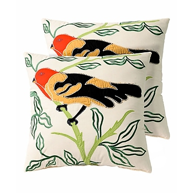 Pegasus Home Fashions Paradise Throw Pillow (Set of 2)