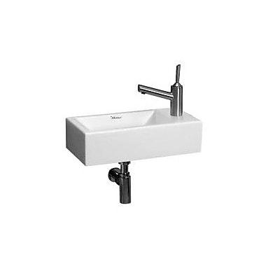 Whitehaus Collection Isabella 19.75'' Wall Mount Bathroom Sink