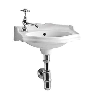 Whitehaus Collection China Series Vitreous China 15'' Wall Mount Bathroom Sink