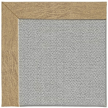 Capel Inspirit Machine Tufted Beige/Gray Area Rug; Rectangle 2' x 3'