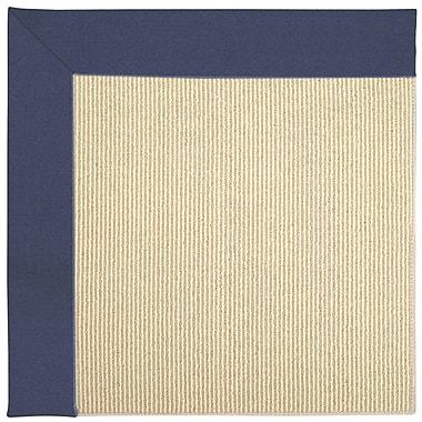 Capel Zoe Machine Tufted Blue/Beige Indoor/Outdoor Area Rug; Rectangle 9' x 12'