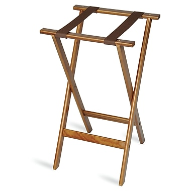 Central Specialties LTD Deluxe Wood Tray Stand w/ Strap