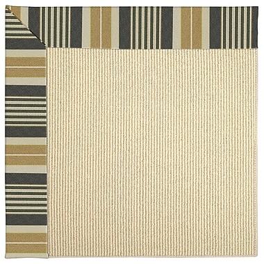 Capel Zoe Machine Tufted Black Indoor/Outdoor Area Rug; Rectangle 8' x 10'