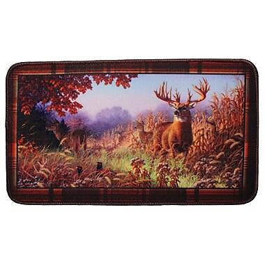 Rivers Edge Deer Scene Doormat