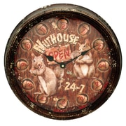 Rivers Edge Nut House 16'' Clock