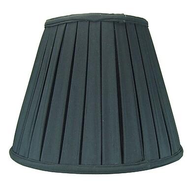 Home Concept 14'' Metal Empire Lamp Shade; Black