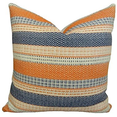 Plutus Brands Full Range Cayanne Cotton Throw Pillow; 20'' H x 20'' W