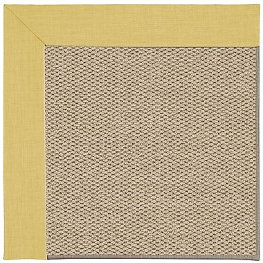 Capel Inspirit Machine Tufted Yellow/Brown Area Rug; Rectangle 2' x 3'
