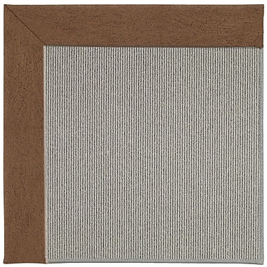 Capel Inspirit Silver Machine Tufted Camel/Gray Area Rug; Rectangle 4' x 6'