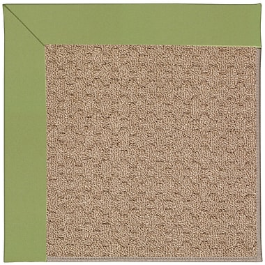 Capel Zoe Grassy Mountain Machine Tufted Green Indoor/Outdoor Area Rug; Square 6'