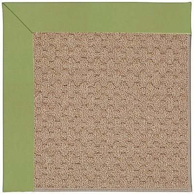 Capel Zoe Grassy Mountain Machine Tufted Green Indoor/Outdoor Area Rug; Rectangle 4' x 6'
