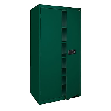 Elite Storage, Keyless Electronic Handle, 46Wx24Dx72H Forest Green
