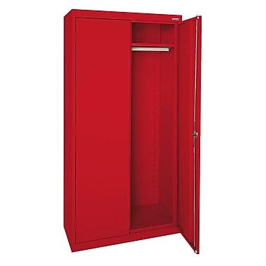 Elite Wardrobe Cabinet, 46Wx24Dx72H, Red