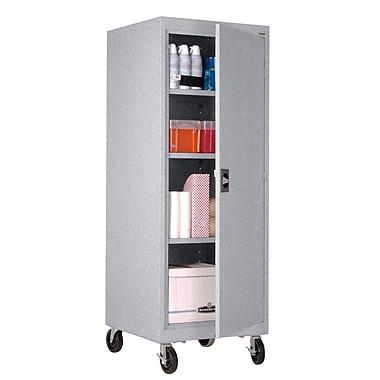 Transport Single Door Storage 24Wx24Dx66H, Multi Granite