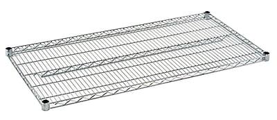 Sandusky Extra Shelf for 48x24 Wire Shelving, Chrome (WSHELF2448-C)