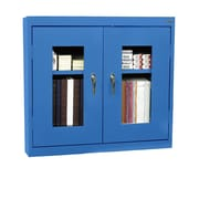 Clear View Wall Cabinet 36Wx12Dx30H Blue