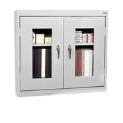Clear View Wall Cabinet 36Wx12Dx30H Dove Gray