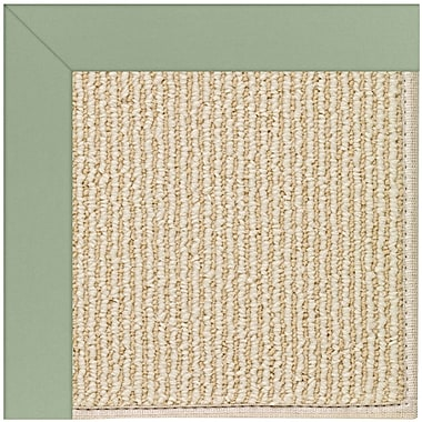 Capel Zoe Machine Tufted Light Jade/Beige Indoor/Outdoor Area Rug; Square 10'