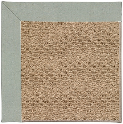 Capel Zoe Machine Tufted Marine Blue/Brown Indoor/Outdoor Area Rug; Rectangle 9' x 12'