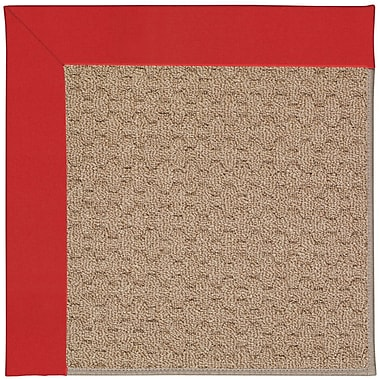 Capel Zoe Grassy Mountain Machine Tufted Red/Brown Indoor/Outdoor Area Rug; Rectangle 10' x 14'