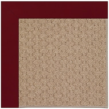 Capel Zoe Grassy Mountain Machine Tufted Wine/Brown Indoor/Outdoor Area Rug; Rectangle 9' x 12'