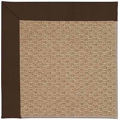 Capel Zoe Machine Tufted Brown Indoor/Outdoor Area Rug; Rectangle 5' x 8'