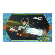 Room Mates Miles From Tomorrowland Chair Rail Prepasted Wall Mural