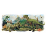 Room Mates Dinosaurs Giant Scene Peel and Stick Wall Decals