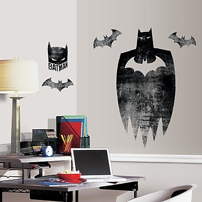Room Mates Batman Silhouette Peel and Stick Giant Wall Decals