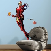 Room Mates Iron Man Peel and Stick Giant Wall Decals w/ Glow