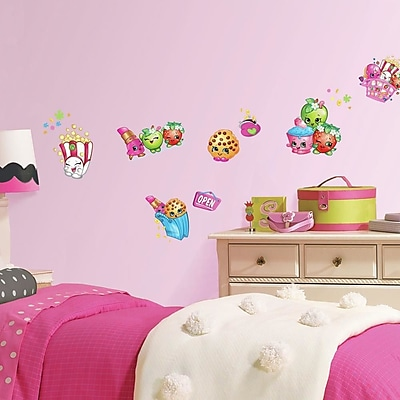 Room Mates Shopkins Peel and Stick Wall Decals
