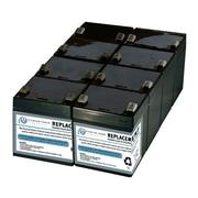 eReplacements – Batterie pour APC RBC43, SLA43, 8/paquet (SLA43-ER)