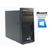 Lenovo M58 Torwer Refurbished Desktop, Intel Core 2 Duo E8400 3.0GHz, 8GB RAM, 1TB HDD, Windows 10 Home Pro 64-bit