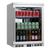 Kingsbottle KBU-55C-SS Undercounter Beverage Cooler Stainless Steel
