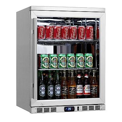 Kingsbottle KBU-55C-SS Undercounter Beverage Cooler Stainless Steel