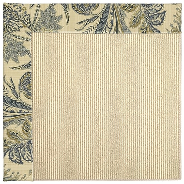Capel Zoe Machine Tufted High Seas/Beige Indoor/Outdoor Area Rug; Rectangle 9' x 12'