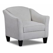 Carolina Accents Carlyle Arm Chair; Snow