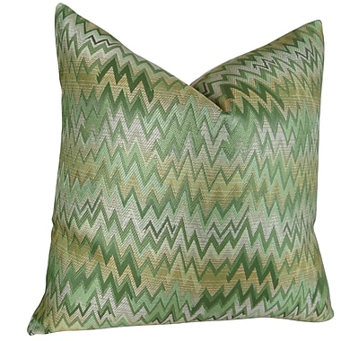 Plutus Brands Peek Leaf Throw Pillow; 18'' H x 18'' W