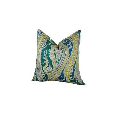 Plutus Brands Fun Paisley Throw Pillow; 18'' H x 18'' W