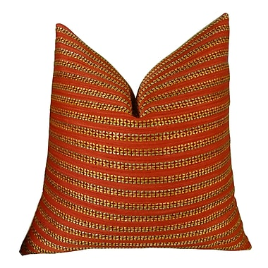 Plutus Brands Tied Rows Throw Pillow - Double Sided; 26'' H x 26'' W