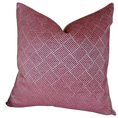Plutus Brands Marble Arch Throw Pillow; 16'' H x 16'' W