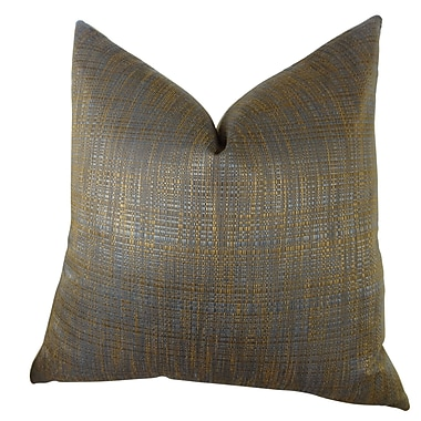 Plutus Brands Clonamore Double Sided Throw Pillow; 18'' H x 18'' W